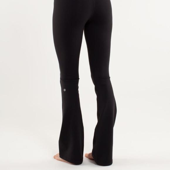 5b313b83679e5 lululemon athletica Pants - Lululemon Flare Yoga Pants (tall, high-rise)